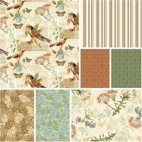 """David Textiles Oak Avenue Collection 44"""" Quilting Cotton Fabric By The Yard"""