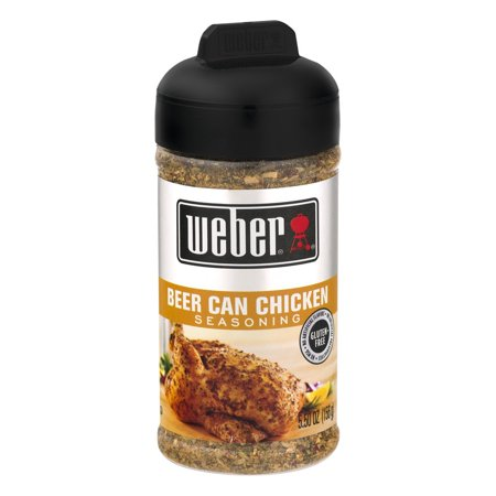 (2 Pack) Weber Beer Can Chicken Seasoning, 5.5 OZ