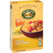 Nature's Path Organic Gluten Free Selections Honey'd Corn Flakes Cereal, 10.6 oz, (Pack of 12)