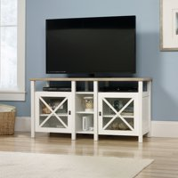"""Sauder, Cottage Road TV Stand for TVs up to 50"""", Soft White"""