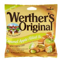 (3 Pack) Werther's Original, Caramel Apple Filled Hard Candy, 5.5 Oz