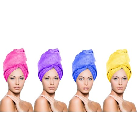 New Ultra Absorbent Quick-Drying Microfiber Hair Towels Hair Turban Wrap
