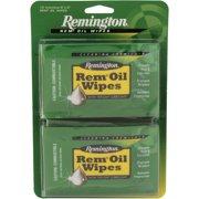 """Remington Accessories Rem Oil 6"""" x 8"""" Wipes, 12 Count"""