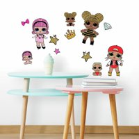 Lol Surprise! Peel and Stick Wall Decals