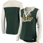 Green Bay Packers NFL Pro Line by Fanatics Branded Women s True Classics  Lace Up Long Sleeve a363c0ca3