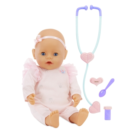 Baby Born - Mommy Make Me Better - Interactive Baby Doll - Blue Eyes - Me Doll
