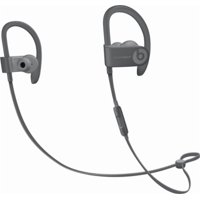 Refurbished Apple Beats Powerbeats3 Wireless Asphalt Gray Neighborhood Collection In Ear Headphones MPXM2LL/A