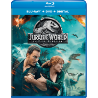 Jurassic World: Fallen Kingdom (Blu-ray + DVD + Digital)