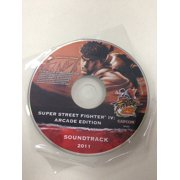 Limited Edition 25th Anniversary Super Street Fighter 4 Arcade Edition Sound Track 2011
