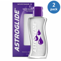 (2 Pack) Astroglide Personal Water Based Lubricant - 5 oz