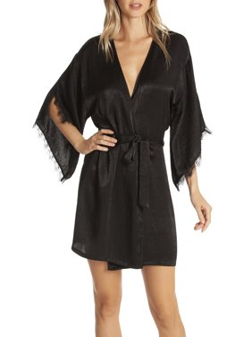 Women's and Women's Plus Satin Robe