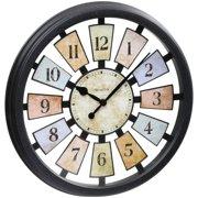 "Westclox® 18 1/2"" Quartz Multi-Color Wall Clock- Style# 36014"