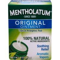 Mentholatum Original Ointment 3 oz.