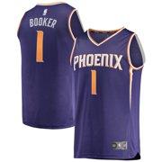 buy popular 6f1a7 c1814 Devin Booker Phoenix Suns Fanatics Branded Youth Fast Break Replica Jersey  Purple - Icon Edition