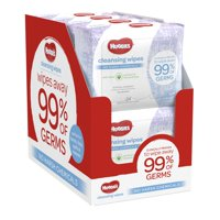 HUGGIES Cleansing Wipes, On-the-Go Pack (8-Pack, 192 Sheets Total), Scented, Alcohol-free, Hypoallergenic