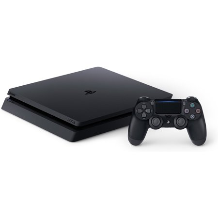 Sony PlayStation 4 Slim 500GB Gaming Console, Black, CUH-2115A