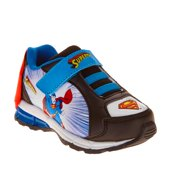 Superman Toddler Boy s Athletic Sneaker With Cape f0e2dab91a