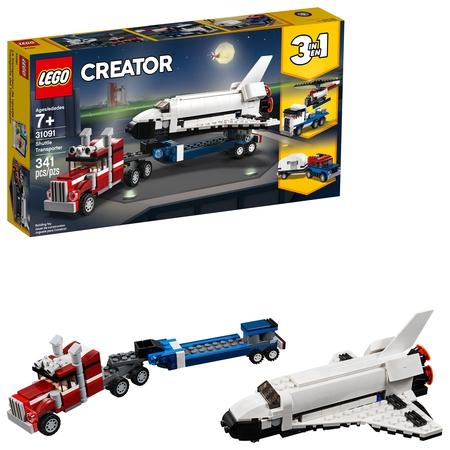 LEGO Creator Shuttle Transporter - Flying Space Shuttle