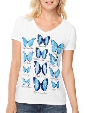 8bf654cf302 Product Image Women s Short-Sleeve V-Neck Graphic T-Shirt