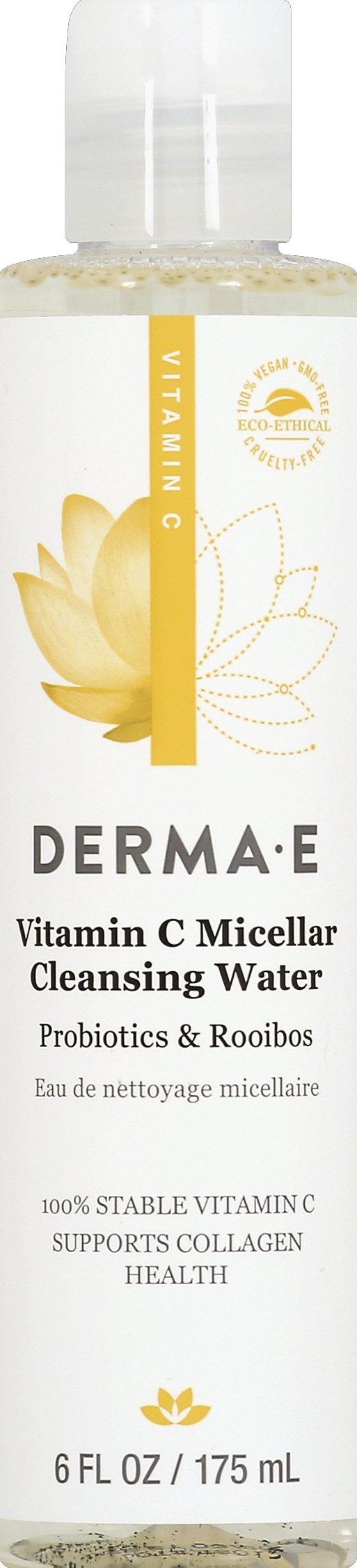 Derma E Derma E Vitamin C Micellar Cleansing Water 6 Fl