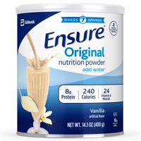 Ensure Original Nutrition Powder Vanilla for Meal Replacement 14.1 oz Can