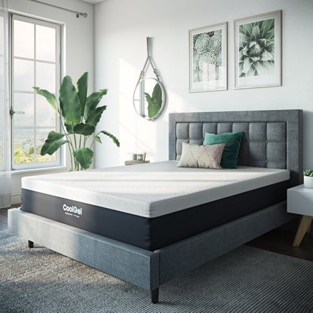 - Modern Sleep 12-Inch Cool Gel Memory Foam Medium Plush Mattress