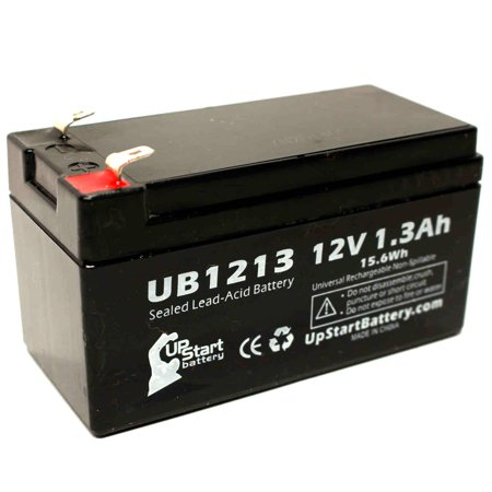 - Compatible Critikon 000 VITAL BEDSIDE MONITOR Battery - Replacement UB1213 Universal Sealed Lead Acid Battery (12V, 1.3Ah, 1300mAh, F1 Terminal, AGM, SLA) - Includes TWO F1 to F2 Terminal Adapters