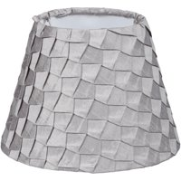 Better Homes and Gardens Gray Pleat Accent Shade