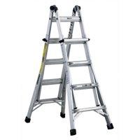 Louisville Ladder L-2098-17 17 ft. Aluminum Multi-Purpose Ladder, Type IA, 300 lbs. Load Capacity
