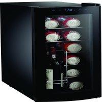 Frigidaire Beverage cooler - Curved Door, Black, (EFRW1225-B-CU)