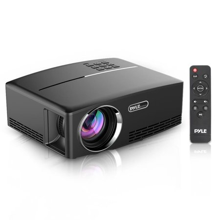 PYLE PRJG98 - Home Theater Digital Projector - Compact Media Projector with 1080p HD Support, Built-in Speakers, - 1065 Projectors