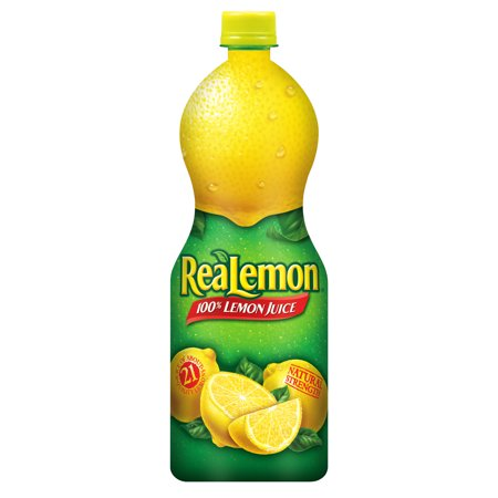 ReaLemon 100% Lemon Juice, 32 Fl Oz Bottle, 1 Count
