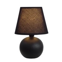Mini Ceramic Globe Table Lamp