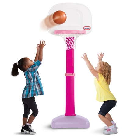 Easy Score Basketball Set Toys - Little Tikes TotSports Easy Score Basketball Set, Pink