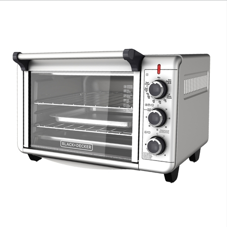 BLACK+DECKER Convection Countertop Oven, Stainless Steel, (Best Counter Top Convection Oven)