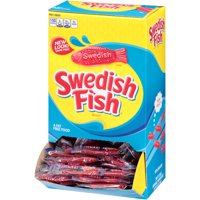 Swedish Fish, Grab-and-Go Candy Snacks Box, 240 Ct
