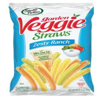 Sensible Portions Garden Veggie Straws Zesty Ranch Vegetable and Potato Snacks, 16 Oz.