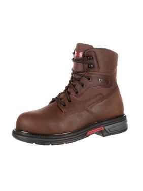 "Rocky Work Boots Mens 6"" Ironclad LT ST Waterproof Brown RKK0176"