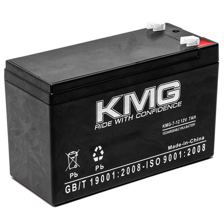 KMG 12V 7Ah Replacement Battery for Invivo Research Inc 1000 1100 1500 1600 3150 HB02 - image 3 of 3
