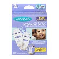 Lansinoh - Set of 50 BPA-Free Breast Milk Storage Bags