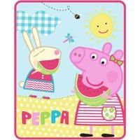 Peppa Pig Sunshine 40x50 Silktouch Throw