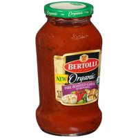 (2 Pack) Bertolli Organic Fire Roasted Garlic Marinara Pasta Sauce 24 oz.