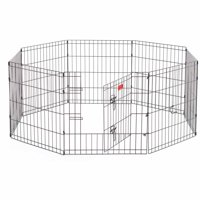 """Lucky Dog Heavy-Duty Pet Exercise Pen with Stakes, 24"""""""