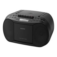Sony CFD-S70BLK Stereo CD/Cassette Boombox