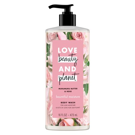 Love Beauty And Planet Moisturizing Body Wash Murumuru Butter & Rose 16 oz