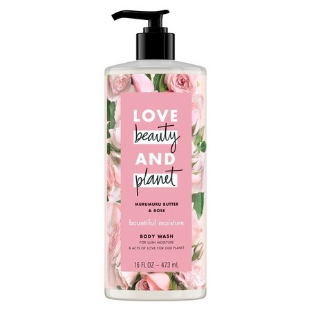 - Love Beauty And Planet Moisturizing Body Wash Murumuru Butter & Rose 16 oz