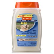 Hartz Rid Flea & Tick Oatmeal Shampoo for Dogs, 18 oz.