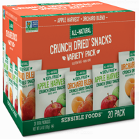 Sensible Foods Crunch Dried Apple Harvest & Orchard Variety Box - 20ct