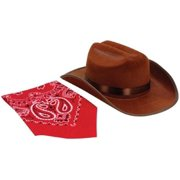 Junior Cowboy Hat With Bandanna cf29eea6fc92