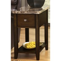 Roundhill Chair Side End Table, Multiple Colors Available